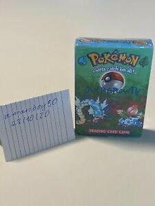 Pokemon 1999 Base Set 'Overgrowth' Theme Deck - New & Factory Sealed