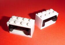 Lego (4209c01) 2 Seilwinden 2x4x2, in weiß/schwarz aus 6395 4030 4025 6696 1049
