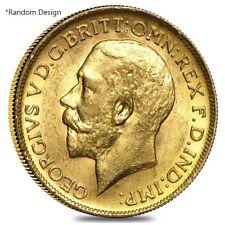 British Gold Sovereign Coin (Random Year)
