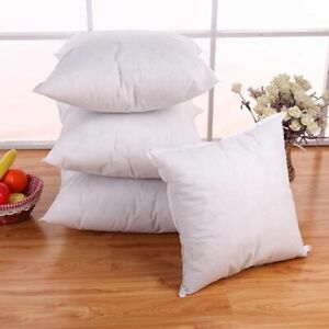 1PC Standard Pillow Cushion Core Cushion Inner Filling Soft Throw Seat Pillow
