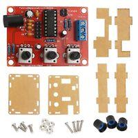XR2206 Function Signal Generator Sine Triangle Square Wave 1HZ-1MHZ DIY Kit+Case
