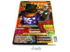 Animal Kaiser Original Evolution Evo Version Ver 4 Gold Card (A191E: Goemon)
