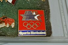 LOS ANGELES 1984 Olympic Collectible Media Pin - Sports Illustrated