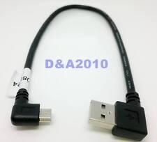 USB 2.0 A Rechts gewinkelt Stecker Zu Mini B 5P Rechts Stecker Adapter Kabel