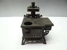 Vintage Used Cast Iron Metal Queen Salesman's Sample Decorative Display Stove