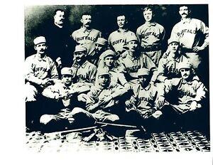 1890'S BUFFALO BISONS 8X10 TEAM PHOTO BASEBALL NEW YORK  HOF MLB USA