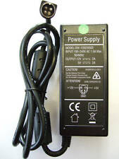 Replacement AC Power Adapter for Lacie ACU034A-0512 12V 5V 4 pin HDD