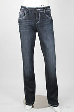 Parasuco Size 28 $140 Indigo Dark Blue Straight Leg Slim Denim Jeans NWT 8VIRGIN