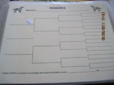 English Setter Blank Pedigree Sheets Pack 10