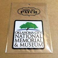 Official Oklahoma City National Memorial & Museum Souvenir Patch - OKC Park