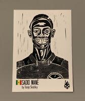Sadio Mane Panini Tschutti heftli Trading Card -World Cup 2018 Sticker Liverpool