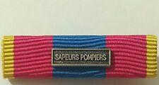 Rappel de médaille DEFNAT Défense Nationale OR avec agrafe SAPEURS POMPIERS