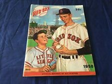 1958 Boston Red Sox Official Yearbook High Grade EX-MT condition