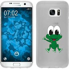 Case für Samsung Galaxy S7 Edge Silikon-Hülle Cutiemals M2 Cover