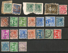 Netherlands & Colonies selection of early used stamps FU