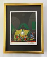 PABLO PICASSO 1955 SIGNED SUPERB LINOCUT MATTED 11 X 14 + LIST $895