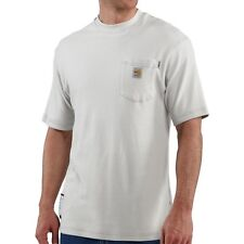 NWT CARHARTT FR Flame-Resistant Gray Short Sleeved Pocket T-Shirt Size M