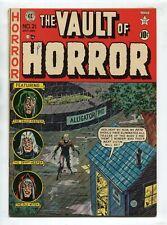 1951 Ec Vault Of Horror #21 Johnny Craig Zombie Cover Gorgeous High Grade