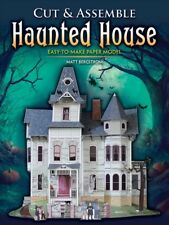 Cut & Assemble Haunted House : Easy-to-make Paper Model, Paperback by Bergstr...