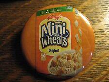 Kellog's Frosted Mini Wheats Breakfast Cereal Box Advertisement Pocket Mirror