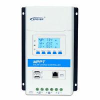 EPEVER 20A 30A 40A MPPT Solar Charge Laderegler 12V/24V PV 100V 2USB Triron DE