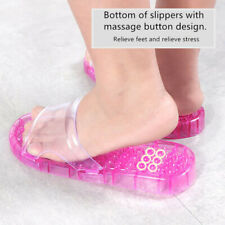Indoor Shower Bath Slippers Women Men Non-slip Home Bathroom Massage Shoes Lot