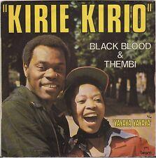 BLACK BLOOD & THEMBI AFRO DISCO REGGAE SP 1976  BIRAM 6109 133