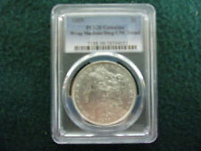 1889 Morgan Silver Dollar PCGS Genuine Uncirculated Details(Wrap Machine Damage)