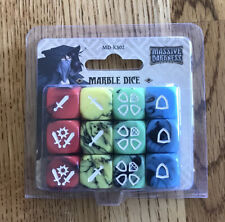 MASSIVE DARKNESS Marble Dice Kickstarter Exclusive MD NIB