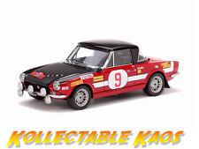 1:18 SunStar - 1st 1971 Rallye dell'Isola d'Elba - Fiat 124 - #9  NEW IN BOX