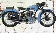 Bianchi ES250 1937 Aged Vintage Photo Print A4 Retro poster
