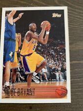 1996-97 Topps Kobe Bryant Rc Rookie Card #138 Sharp Card