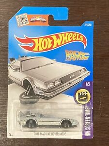 Hot Wheels 2016 Back To The Future Time Machine Hover Mode Brand New