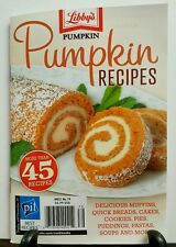 Libby's Pumpkin 45 Recipes Muffins Breads (Digest/small size) 2016 FREE SHIPPING