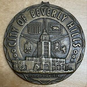 City of Beverly Hills Medal (#x962)