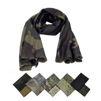 Homme Femme Militaire Armée Echarpe Camouflage Châle Foulard Désert Tactique NF