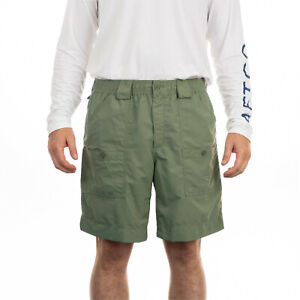 "AFTCO Original Safari Fishing Shorts Classic Fit 8"" Inseam Men's NWT 30 38 40 42"