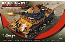 MIRAGE HOBBY 726077 1/72 U.S. Light Tank M5 Tunisia 1942
