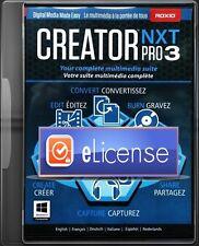 Roxio Creator NXT 3 & Addon-Content -DigitaI-