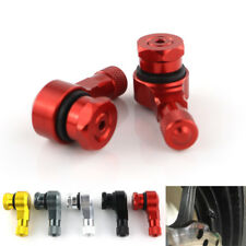 Aluminium Tyre Valve Stems For Triumph Bonneville 790 Bobber T100 T120 SE Red