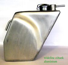 Triton Norton wideline Featherbed Aluminium Oiltank Manx Alu öltank Cafe Racer