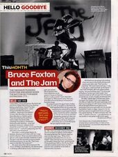 Hello, Goodbye Bruce Foxton & The Jam Magazine Cutting