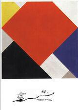 Kunstpostkarte  -  Theo van Doesburg:  Counter-Composition V