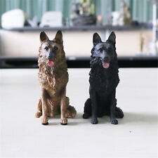 German Shepherd Dog Pet Figure Animal Model Collector Decor Toys Kid Xmas Gift