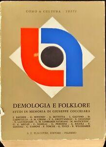 DEMOLOGIA E FOLKLORE - FLACCOVIO 1974
