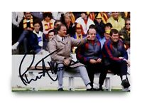 Ron Atkinson Signed 6x4 Photo Manchester United England Manager Autograph + COA
