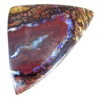 66.10Cts. 42X55X4mm Fancy Cab 100% Natural koroit/yowah Boulder Opal Gemstone