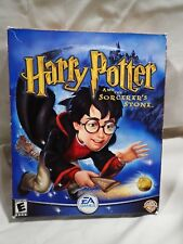 Harry Potter and the Sorcerer's Stone (PC, 2001) Complete Big Box
