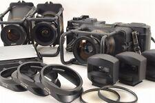 【Rare!!】FUJI GX617 Professional Panorama Camera w/ 3 Lenses + View Finders #2896