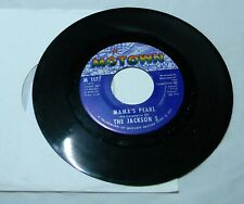 THE JACKSON 5 MAMA'S PEARL / DARLING DEAN 45 RPM RECORD
